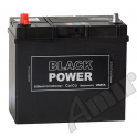 Akumulator Black Power 45Ah 300A Lewy+