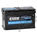 Akumulator EXIDE AGM MICRO-HYBRID 80Ah  760A