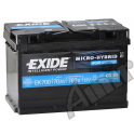 Akumulator EXIDE AGM MICRO-HYBRID 70Ah  760A
